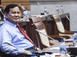 Menhan Prabowo Subianto . KC/ANTARA FOTO