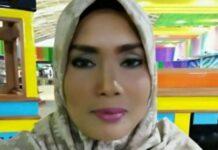 Inilah istri Khairuddin Siregar, Ervina Lubis (40), yang sedang dicari dengan sayembara berhadiah Rp 150 juta.(Dok. Facebook Khairuddin Siregar)