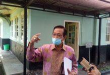 Gubernur DIY Sultan HB X, saat ditemui di Kepatihan Kota Yogyakarta, Jumat (18/6/2021) jelaskan buka opsi lockdown. foto: net