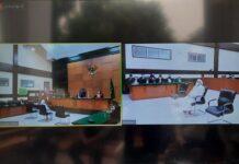 Foto Sidang Rizieq Shihab di Pengadilan Negeri (PN) Jakarta Timur. Foto: ist