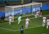 Striker Prancis Karim Benzema menanduk bola umpanAntoine Griezmann untuk Prancis memimpin 2-1 atas swiss di babak kedua 16 Besar EURO 2020 di Stadion Arena Nationala, Bucharest, Romania, Senin (28/6/2021) atau Selasa dinihari waktu Indonesia. (UEFA.com)