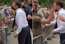 Presiden Prancis ditampar warga/ Foto: ngopibareng.id