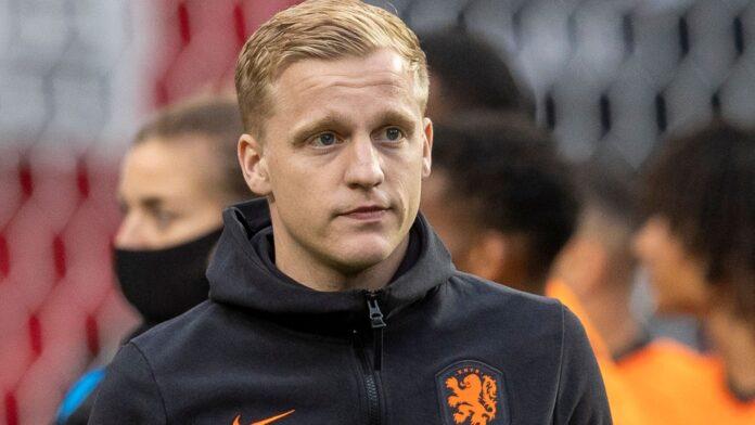 Donny van de Beek gagal membela tim nasional Belanda di Euro 2020 karena cedera. (Foto dari Sky Sports)