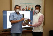 Ketua MPR RI Bambang Soesatya dan Kepala BP Batam Muhammad Rudi,