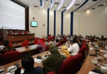 Bimbingan Teknis Perumusan Norma Metodologi Pelaksanaan Sinkronisasi dan Evaluasi Kebijakan di BP Batam, Rabu (16/6/2021), di IT Centre BP Batam, Batam Centre.
