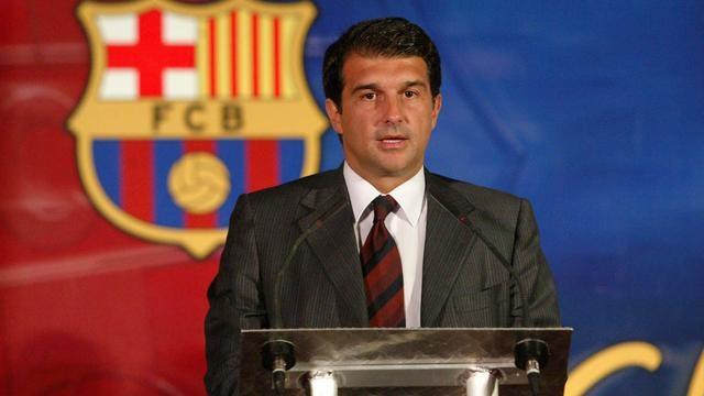 Presiden Barcelona Joan Laporta. (Bola.com)