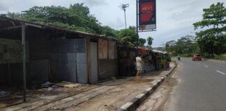 PKL di simpang Barelang, Kota Batam/ Foto: kepripedia.com