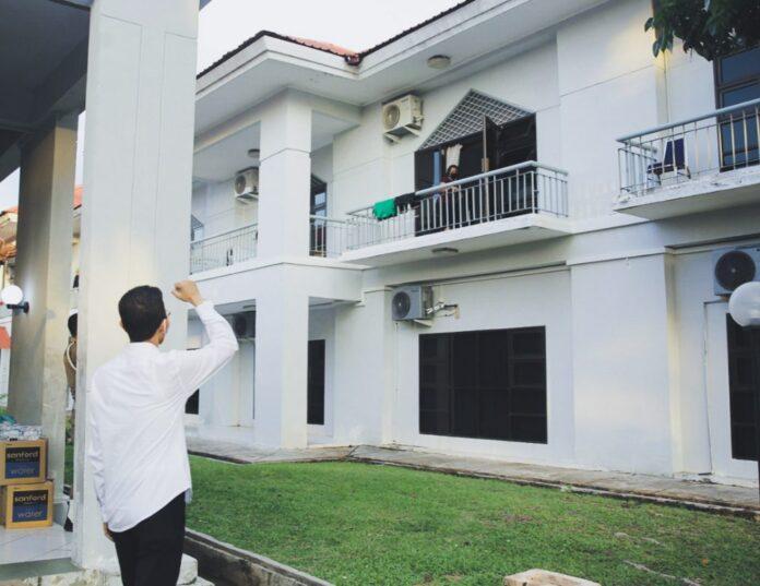 Wakil Wali Kota Batam saat kunjungi Asrama Haji, Kota Batam