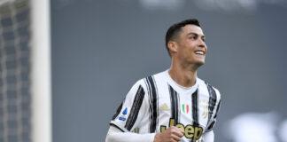 Megabintang Juventus, Cristiano Ronaldo bisa saja berseragam Tottenham hotspur untuk musim 2021/22. (Foto dari talkSPORT)
