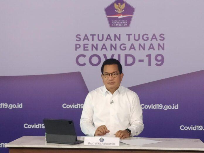 Juru Bicara Satgas Penanganan COVID-19 Prof Wiku Adisasmito mengingatkan agar waspada terjadi lonjakan kasus terkait pembukaan pembelajaran tatap muka (PTM) yang direncanakan Juli 2021 mendatang. (Foto: rri.co.id)