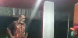 Viral video Bupati Alor yang marah-marah ke pegawai Kemenkos dan sindir Mensos Risma/ Foto: screenshot FB