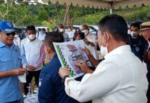 Foto Ketua MPR RI Bambang Soesatya Meninjau lahan Sirkuti di nongsa