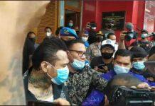 Jerinx SID bebas dari Lapas, Selasa (8/6/2021)