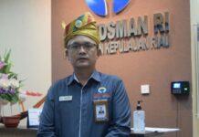 Kepala Perwakilan Ombusman Kepri, Lagat Patar Siadari