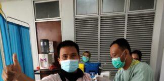 Foto pelaksanaan vaksin Covid-19