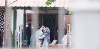 Foto pasien OTG di Asrama haji Batam Center