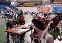 Polresta Barelang Gelar Vaksinasi Massal Selama 13 Hari di GOR Temenggung Abdul Jamal Batam