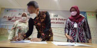 Rumah Sakit Awal Bros Batam jalin kerjasama dengan Charles Bonar Sirait dan CBS School of Communications Jakarta