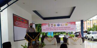 Polresta Barelang dirikan posko Kampung Tangguh Narkoba di DAM Kampung Aceh, Kota Batam.