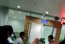 Instalasi Gawat Darurat (IGD) Rumah Sakit Badan Pengusahaan (RSBP) Batam, Selasa (29/6/2021) malam didatangi oleh puluhan pasien.