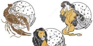 Zodiak Cancer, Leo, dan Virgo. (Dreamline)