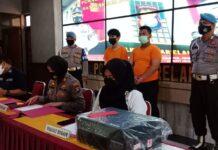 Dua orang pekerja Test GeNose di Bandara Hang Nadim diringkus Polsek Hang Nadim Batam, pada Selasa (1/6/2021).