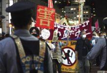 Sejumlah warga Jepang menolak pelaksanaan Olimpiade Tokyo 2020