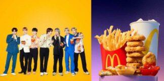 BTS Meal McD/ tribunnews.com