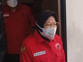 Risma datangi bekas penjara Soekarno di Bandung. ©2021 Merdeka.com