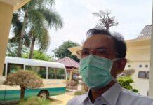 KADINKES KARIMUN - Kepala Dinas Kesehatan (Kadinkes) Karimun Rachmadi saat ditemui di Rumah Dinas Bupati Karimun, Sabtu (12/6/2021).