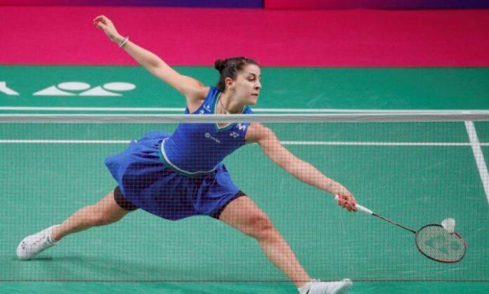 Juara bulu tangkis Olimpiade Carolina Marin akan absen dalam mempertahankan gelarnya di Olimpiade Tokyo 2020 karena cedera lutut.