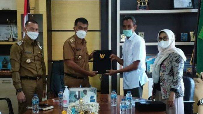 Universitas Andalas, Provinsi Sumatra Barat, Senin (31/5/2021). Nota kesepahaman ini untuk memenuhi kebutuhan dokter spesialis di RSUD Natuna.