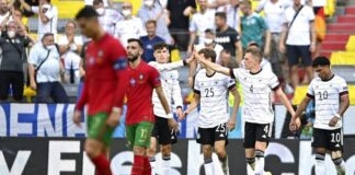 Ada kemenangan Jerman atas Portugal dalam hasil Euro 2020 tadi malam (Foto: AP/Philipp Guelland)