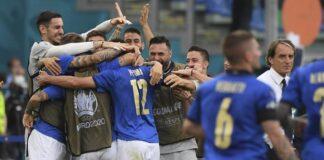 Timnas Italia juara Grup A Euro 2020. (Foto: AP/Alberto Lingria)