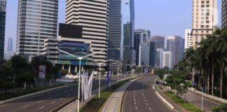 Suasana Kota Jakarta saat penerapan PPKM Darurat. (Foto: Liputan6)