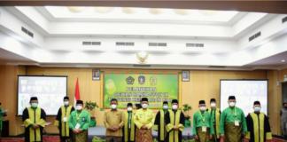 Gubernur Kepulauan Riau H. Ansar Ahmad resmi mengukuhkan Dewan Hakim STQH IX Provinsi Kepulauan Riau