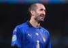 Kapten Italia Giorgio Chiellini menyebut Inggris sebagai 'kandidat serius' untuk menjuarai EURO 2020. (Foto dari Daily Mail)
