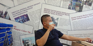 Kepala Bidang Teknologi Informasi dan Komunikasi Keimigrasian Kanim Batam, Tessa Harumdila. (Foto: JP - Channelpublik)