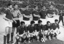 Para pemain Italia peraih juara EURO 1968. Mereka adalah 22-Zoff, 5-Burgnich, 10-Facchetti, 12-Guarneri, 19-Rosato, 20-Salvadore; 8-De Sisti, 15-Mazzola; 9-Domenghini, 2-Anastasi, 17-Riva Cadangan: 1-Albertosi, 21-Vieri, 3-Anquilletti, 4-Bercellino, 6-Bulgarelli, 7-Castano, 11-Ferrini, 13-Juliano, 14-Lodetti, 16-Prati, 18-Rivera Pelatih: Valcareggi . (Foto: UEFA.com)