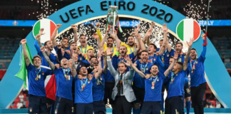 Berhasil menjadi juara EURO 2020, tim nasional Italia membawa pulang hadiah sebesar € 28 juta atau sekitar Rp 480,7 miliar. (Foto: UEFA.com)