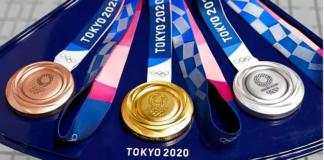 Medali pada Olimpiade Tokyo 2020.