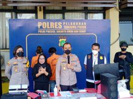 Pasutri pembuat sertifikat palsu vaksin Covid-19 ditangkap Polres Tanjung Priok, Jakarta. (Foto dari RRI.co.id)