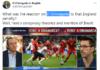 Tangkapan layar kicauan TV El Chiringuito di Twitter yang ditertawai netizen karena pernyataan Roberto Morales dalam video wawancara itu cacat logika. (Suryakepri.com)