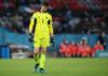 Kiper Belgia Thibaut Courtois mengakui Italia pantas menang atas mereka dalam laga perempat final EURO 2020 di Fussball Arena, Munich, Jerman, Jumat (2/7/2021) atau Sabtu dinihari waktu Indonesia.(Foto: Uefa.com).