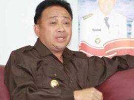 Bupati Lembata Eliaser Yentji Sunur, ST meninggal dunia di RS Siloam, Kupang, Sabtu (17/7/2021)