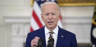 Presiden AS Joe Biden (Foto: AP Photo/Evan Vucci)