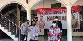 Kapolri Listyo Sigit mengingatkan tetap jaga prokes meski sudah divaksin (Foto: Dony Indra Ramadhan)