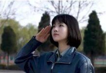 Xu Fengcan memberi hormat. (Foto dari lujuba.cc)
