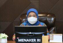 Menaker Ida Fauziyah. ©2021 Merdeka.com