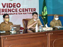 Foto acara virtual dan dialog bersama forum anak, se- Kabupaten Natuna.